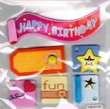 Happy Birthday Fun Toppers - HSA3018A